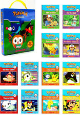 Pokemon Phonics 12 Readers short and long vowel sounds by Scholastic NEW