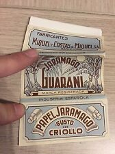 Jaramago Guarani Rolling Paper Cigarette Papier Zigarettenpapier Papel Fumar