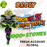 🌟 Android - Dokkan Battle - Broly PHY 2000+ Dragon Stones - GLOBAL