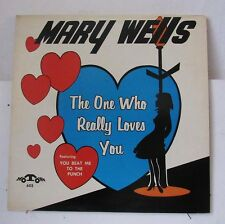 MARY WELLS-THE ONE WHO REALLY LOVES YOU ON MOTOWN RARE SOUL LP-ORIGINAL NM, MONO