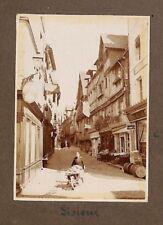 """LISIEUX PHOTO DE QUALITE """" LAVANDIERE CENTRE VILLE """" 1927"""