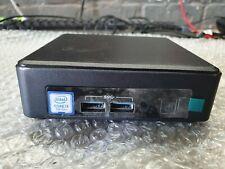 Intel NUC7i3DNK3E PC i3-7100U 2.4GHz 4GB DDR4 RAM 250GB M.2 SSD WiFi & Backplate