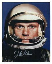 COLLECTIBLE NASA astronaut John Glenn facsimile autograph 8 X 10 photo