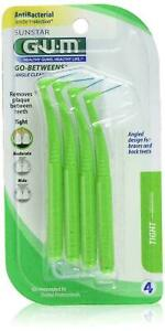 Butler G U M Go-Betweens Angled Cleaners 874 (Pack of 6)