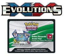 12x Pokemon TCG Online XY Evolutions Code Card for TCGO Booster Packs - FAST!
