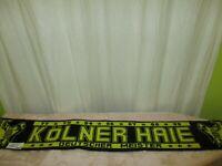 """Kölner Haie """"KEC"""" Fan Schal """"77 x 79 x 84 x 86 x 87 x 88 x 95 DEUTSCHER MEISTER"""""""