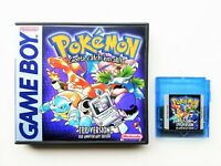 Pokemon TPP - Twitch Plays Pokemon Game / Case Nintendo Gameboy Fan Made (USA)
