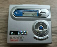 Sharp IM-DR400e(s) Minidisc Player Recorder NetMD MDLP 1 Bit Technology Silver