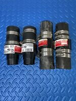 """Lot Of 4 ACE 1-1/2"""" In Line Sump Pump Check Valve Easy Install (H-4) 2 Styles"""