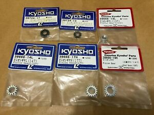 KYOSHO LOTS OF PINION GEAR FOR KYOSHO SUPERTEN