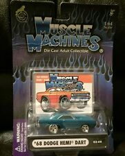 1968 DODGE HEMI DART-----MUSCLE MACHINES----1:64-----MOC