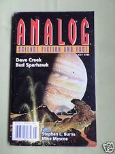 ANALOG - SCIENCE FICTION & FACT MAG  - MAY 2002 - DAVE CREEK - BUD SPARHAWK