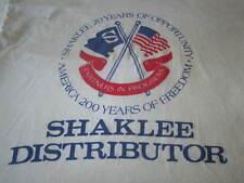 SHAKLEE DSITRIBUTOR VINTAGE 1980S TEE SHIRT LARGE 80S