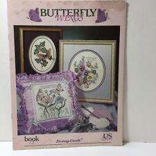 Butterfly Wings Cross Stitch Pattern Book Stoney Creek #75