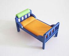 PLAYMOBIL (R248) MAISON MODERNE - Lit Superposable Bleu Chambre Enfants 3964