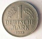 1958 J Deutschland Marke - Selten Datum / Ungebraucht - Ausgezeichnete Münze HV4