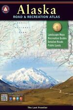 ALASKA BENCHMARK ROAD & RECREATION 2016 ATLAS - NATIONAL GEOGRAPHIC MAPS (COR) -