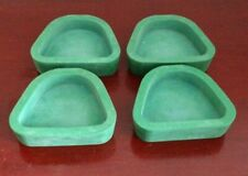 LOT OF (4) LARGE(LF) DENTSPLY VERTEX RUBBER BASE FORMERS