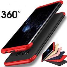 Funda carcasa rígida 360 protección 3 partes Samsung Galaxy S7Edge/S8+Plus/Note8