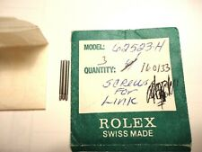 ROLEX 3 Screws for Link for 62523H