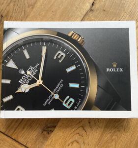 2021 2022 Rolex Watch Hardback Catalogue UK Brochure