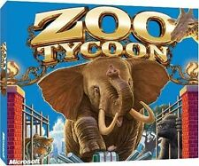 MICROSOFT ZOO TYCOON PC GAME XP/VISTA/WINDOWS 7/8.1/10 Brand New