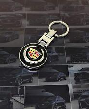 3D Pendant Keychain Key Chain Ring For Cadillac ATS CTS XTS SRX Escalade XT5