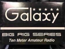 Galaxy DX98VHP 10 Meter Amateur Mobile High Watt Large Meter Display Radio NEW
