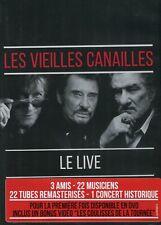 Les Vieilles Canailles (J. Dutronc, J. Hallyday, E. Mitchell) : Le Live (DVD)