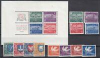 AR5479/ ESTONIA – 1939 / 1940 MINT SEMI MODERN LOT – CV 115 $