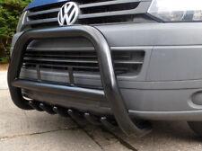 """Frontschutzbügel Frontbügel 3"""" VW T5 (2003-2015) mit ABE Schwarz black Frontbar"""