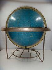 "Scarce Cram's 12"" Celestial Globe. 1950's Modern."