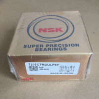 NEW NSK 7207CTRDULP4Y Abec-7 Super Precision Spindle Bearings.Matched Set of Two