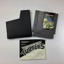 Teenage Mutant Ninja Turtles TMNT NES Game Cartridge Manual Sleeve A27-19