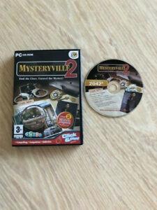Mysteryville 2 PC CD-ROM Hidden Object game