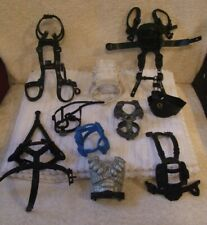 ACTION MAN ACCESSORIES * JOB LOT OF (TEN) BODY HARNESSES FOR ACTION MEN * USED