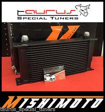Radiatore olio maggiorato MISHIMOTO 19 file Racing 330mm universale MMOC-19BK