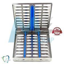 La stérilisation stérilisant détiennent 10 cassette rack Plateau dentaire autoclave CE Médical