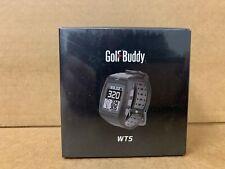 Golf Buddy WT5 Watch Range Finder Golf Rangefinder Charcoal NEW! Golfbuddy