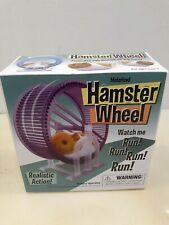 Playmaker Toys Hamster Wheel With BATTERY Operated Hamster