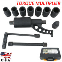 Heavy Duty Torque Multiplier Wheel Lug Nut Labor Saving Wrench Remover for Car