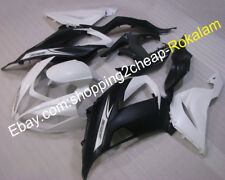 For Kawasaki Ninja ZX636 13 14 15 ZX6R 636 White Black Motorcycle Fairing Kit