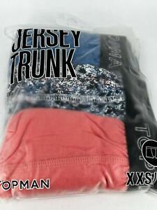Topman 3 Pack Jersey Trunk XXS/XS TD110 TT 04