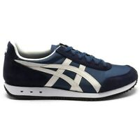 ONITSUKA TIGER MENS NEW YORK RUNNING STYLE TRAINERS BLUE