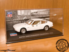 MATRA SIMCA BAGHEERA COURREGES WHITE 1:43 1976 MINT!!!