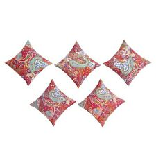 Kantha Paisley cushion covers Lot Of 5 Pcs Set Wholesale Pillow Cases