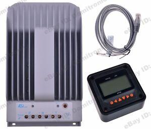 EPEVER MPPT Solar Controller 12V/24V Battery Regulator 150V PV Controller+Meter