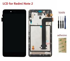 For Xiaomi Redmi Note 2 LCD Display Digitizer Touch Screen Sensor & Frame