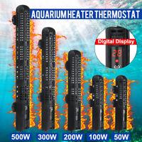 50-500W Submersible Fish Tank Aquarium Heater Thermostat Thermometer Digital  D