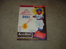 1950 Allied Grand Mfg Co Jackie Robinson Doll Color Ad Heavy Paper Stock